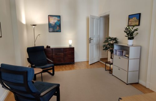 Praxis für Psychotherapie - Therapieraum