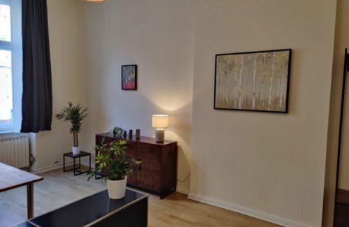 Wartebereich Praxis für Psychotherapie Berlin